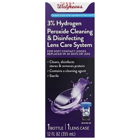 Walgreens Hydrogen Peroxide Cleaning & Disinfecting Solution - 12 fl oz