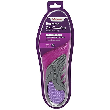 Walgreens Ultra Fit Gel Insole, 1 Pair