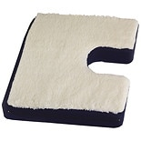 Rose Healthcare Coccyx Seat Cushion with Gelpad and Fleece Top