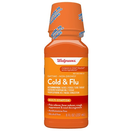 Walgreens Cold and Flu Relief Day - 8 oz.