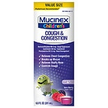 Mucinex Children's Congestion & Cough Liquid Berry