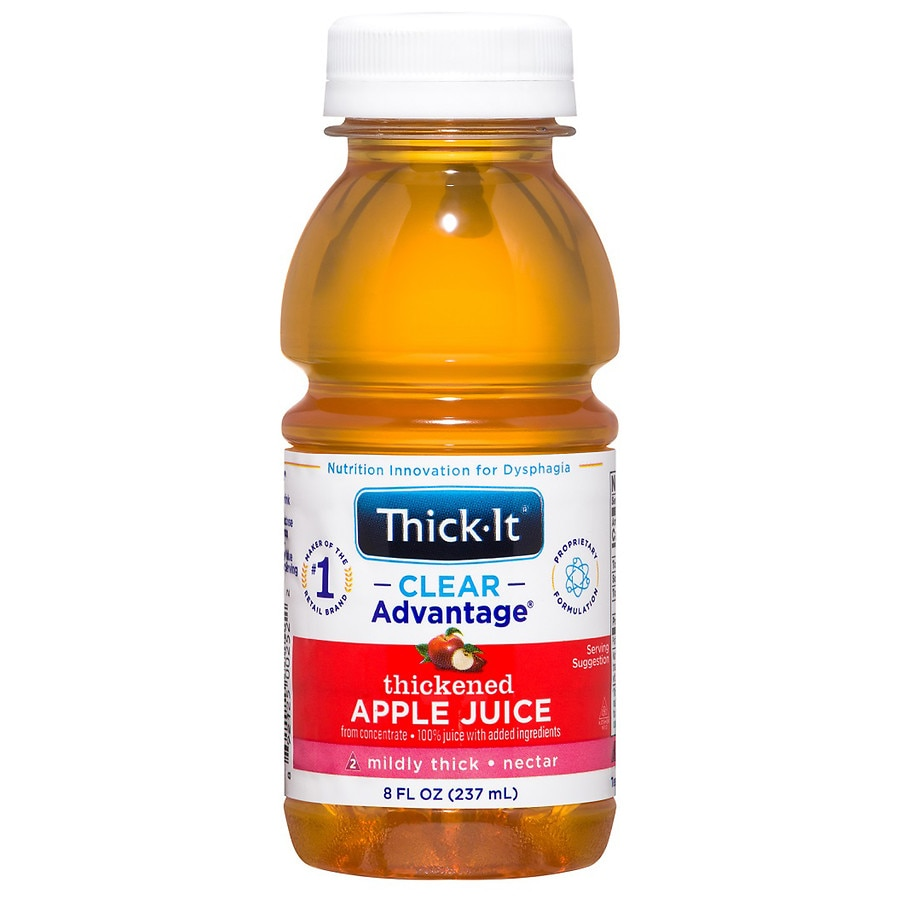 Thick-It AquaCareH20 Thickened Apple Juice Nectar Consisency