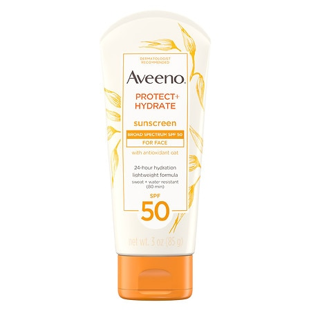 Aveeno Protect + Hydrate Face Sunscreen Lotion With SPF 50 - 3 oz.