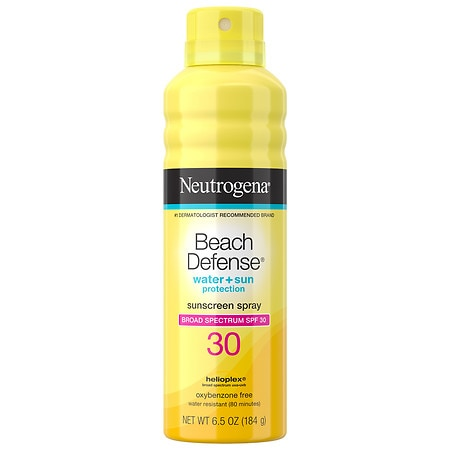 Neutrogena Beach Defense SPF 30 Sunscreen Spray - 6.5 oz.