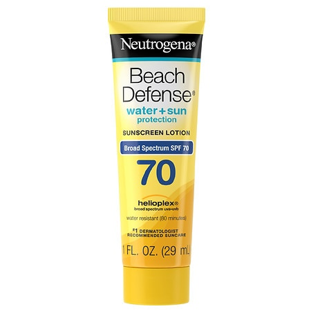 Neutrogena Beach Defense SPF 70 Sunscreen Lotion - 1 oz.