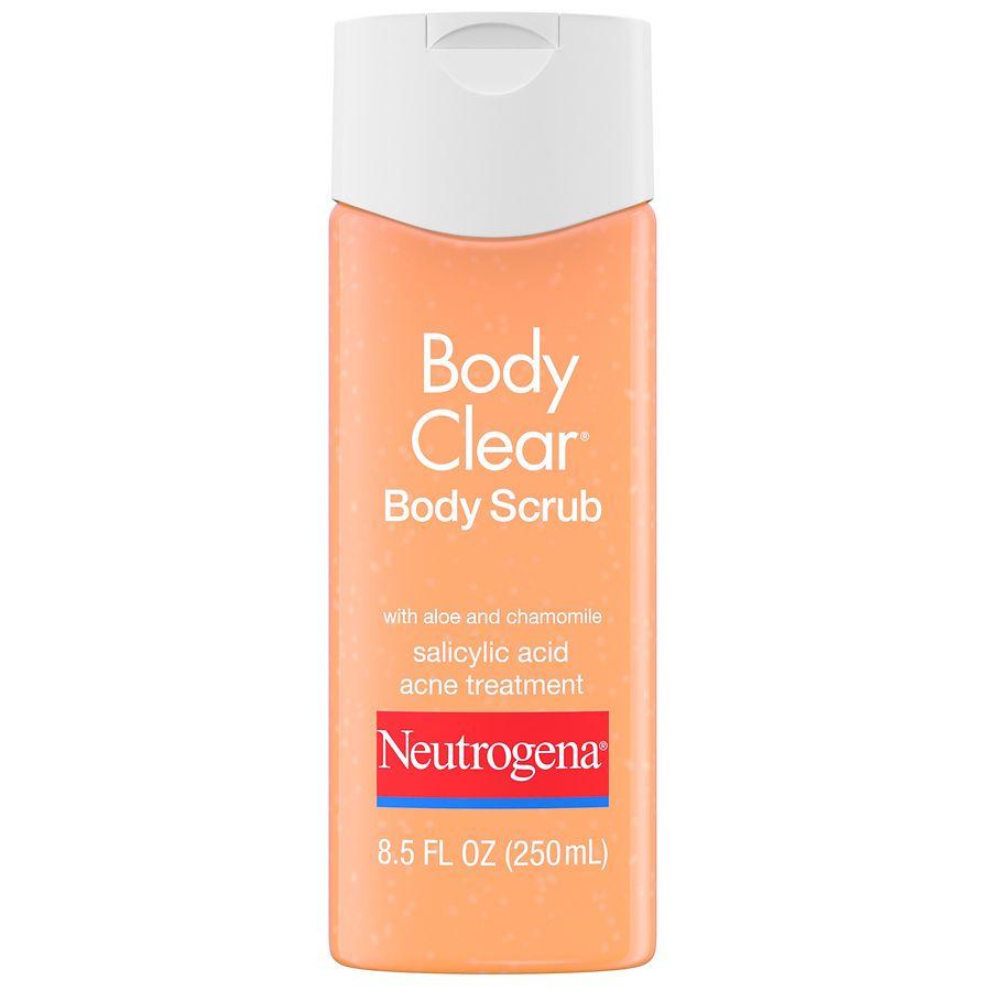 Neutrogena Body Clear Scrub With Salicylic Acid Walgreens