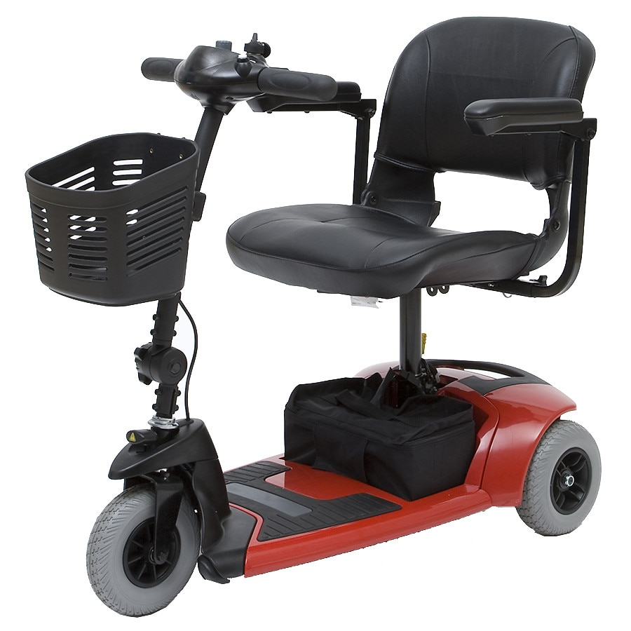 mega motion rascal travel 3 wheel mobility scooter red walgreens. Black Bedroom Furniture Sets. Home Design Ideas