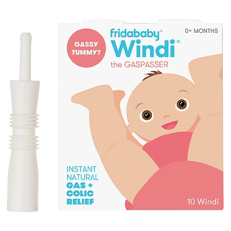 FridaBaby The Windi Gas and Colic Reliever for Babies - 10 ea