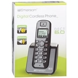 Emerson Dect 6.0 Digital Cordless Phone with 1 Handset