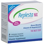 Replesta NX Once Weekly Vitamin D Wafers Orange