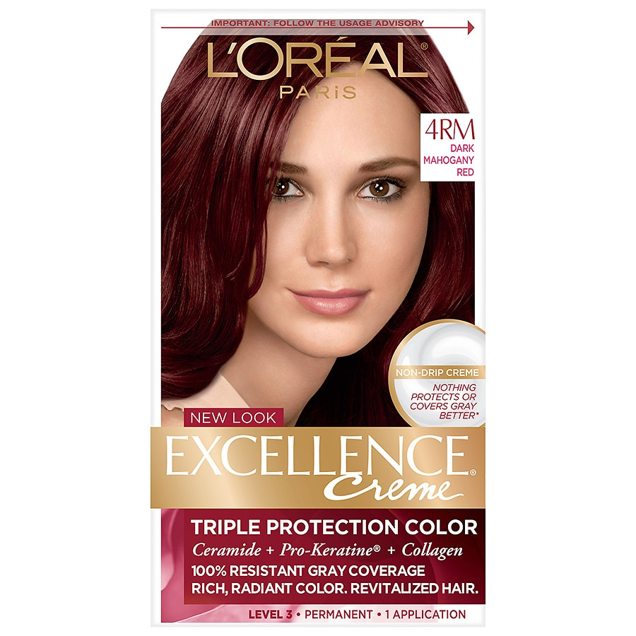 Loreal Paris Excellence Creme Permanent Hair Colordark Mahogany