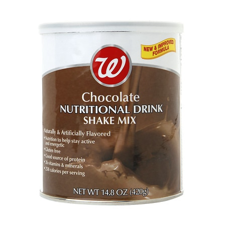Walgreens Nutritional Shake Powder Chocolate