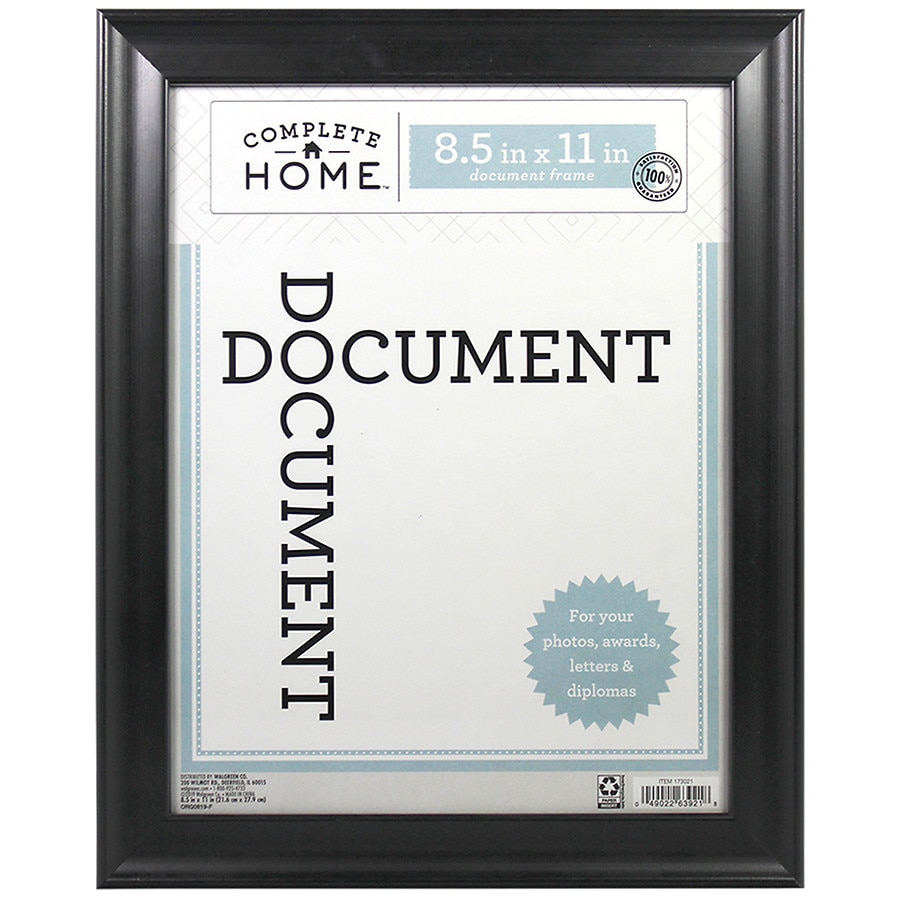 Home Elements Document Frame 85 In X 11 In Walgreens