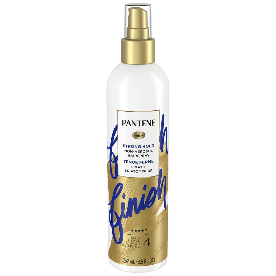 styling hair spray pantene pro v strong hold non aerosol hairspray 2681 | 900