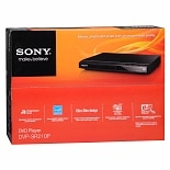 Sony DVD Player DVP-SR210P Black