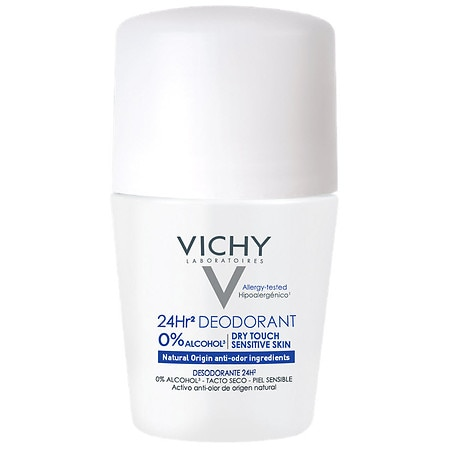 Vichy 24 Hour Dry Touch Deodorant for Sensitive Skin - 1.7 oz.