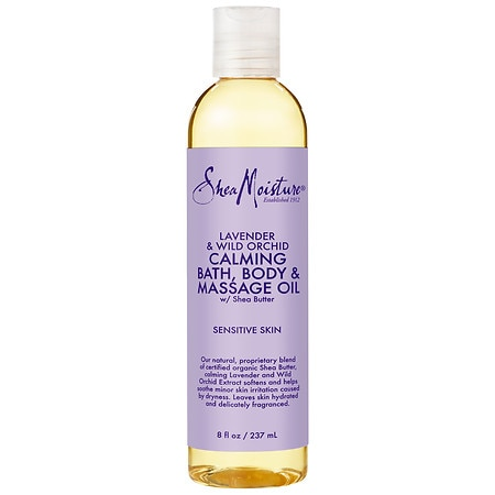 SheaMoisture Lavender & Wild Orchid Bath, Body & Massage Oil