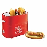 Nostalgia Electrics HDT600COKE Coca-Cola Series Pop-Up Hot Dog Toaster