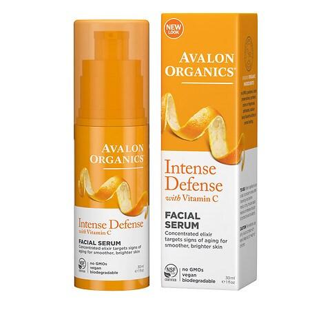Avalon Organics Vitamin C Vitality Facial Serum - 1 fl oz