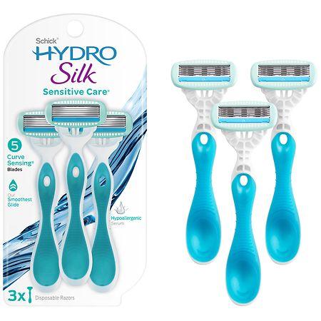 Schick Hydro Silk Disposable Razors - 3 ea