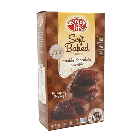 Image of Enjoy Life Soft-Baked Cookies Double Chocolate Brownie - 6 oz.