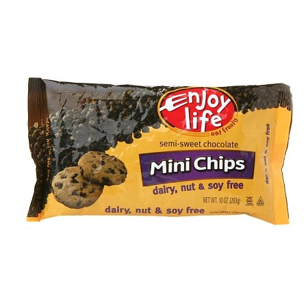 Image of Enjoy Life Semi-Sweet Chocolate Mini Chips - 10 oz.
