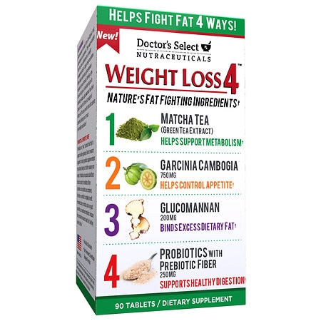 Doctor's Select Nutraceuticals Weight Loss 4, Tablets - 90 ea