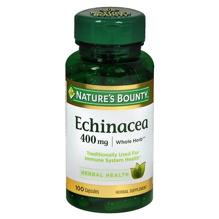 Nature's Bounty Echinacea, 400mg, Capsules - 100 ea