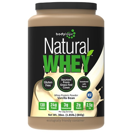 Bodylogix Protein Powder Vanilla - 1.85 lbs