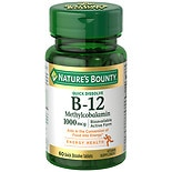 Nature's Bounty Methylcobalamin Vitamin B-12 1000 mcg