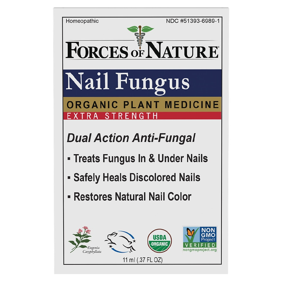 Forces of Nature Nail Fungus Control Extra Strength | Walgreens