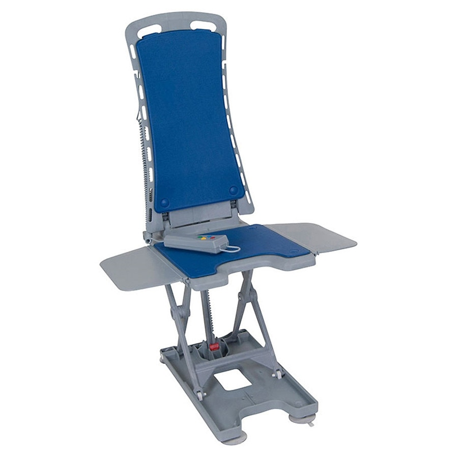 Drive Medical Whisper Ultra Quiet Bathtub Lift Blue