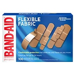 Band Aid Brand Flexible Fabric Adhesive Bandages, Assorted Sizes Assorted
