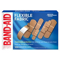 Deals on 200CT Band-Aid Brand Flexible Fabric Adhesive Bandages