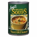 Amy's Organic Soup, Low Fat Vegetable Barley