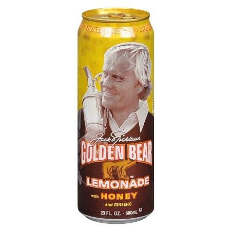 Arizona Jack Nicklaus Golden Bear Lemonade Honey and Ginseng - 23 oz.