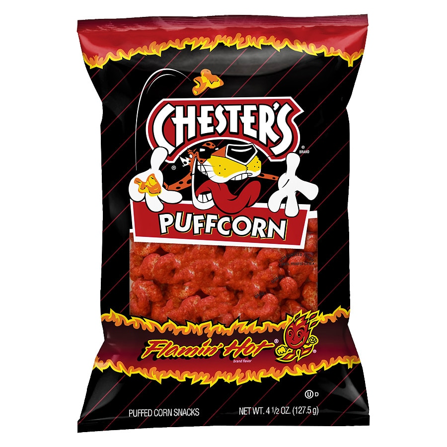 Frito Lay Puffcorn Hot | Walgreens