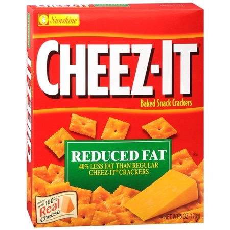 Cheez-It Baked Snack Crackers - 6 oz.