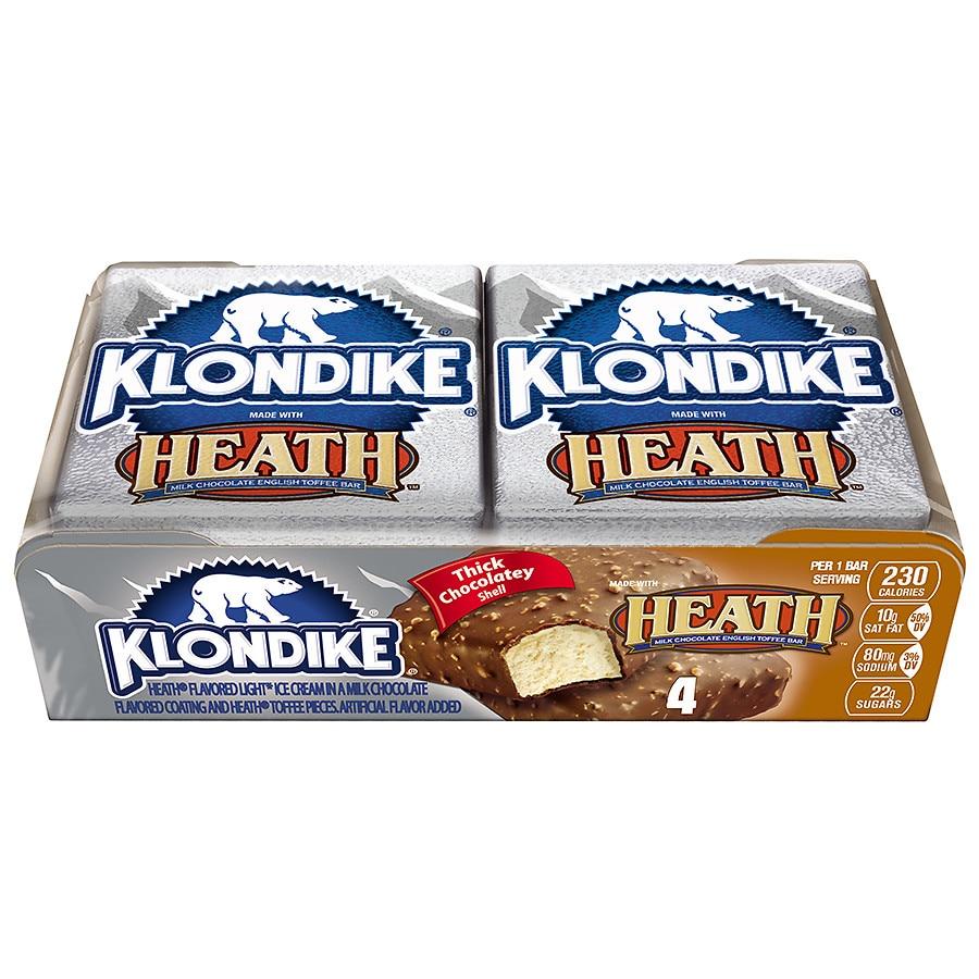 Klondike Ice Cream Bars Heath