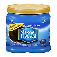 Deals on Maxwell House Original Medium Roast Ground Coffee 30.6-Oz