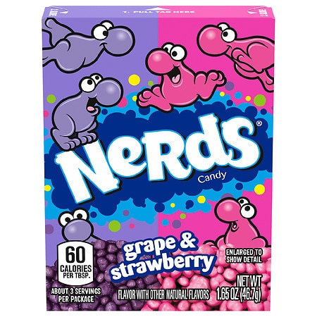 Nerds Nerds Tangy Candy Strawberry - 1.65 Ounces