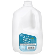 Nice Spring Water 1 Gallon Bottle Walgreens