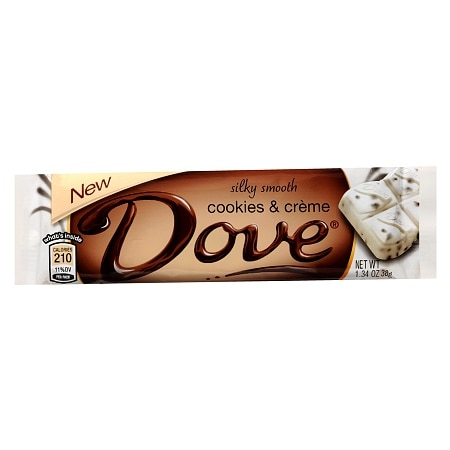 Dove Silky Smooth Chocolate Bar Cookies & Creme