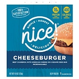 Nice! Frozen Cheeseburger