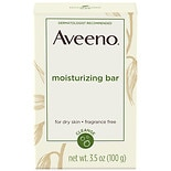 Aveeno Gentle Moisturizing Bar Facial Cleanser For Dry Skin