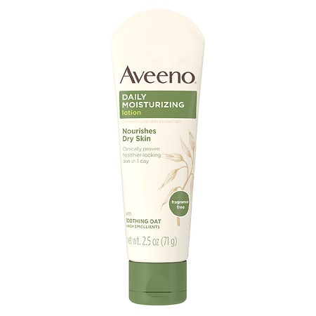 Aveeno Daily Moisturizing Lotion With Oat For Dry Skin - 2.5 oz.