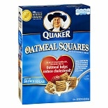 Quaker Oatmeal Squares Crunchy Oatmeal Cereal Brown Sugar