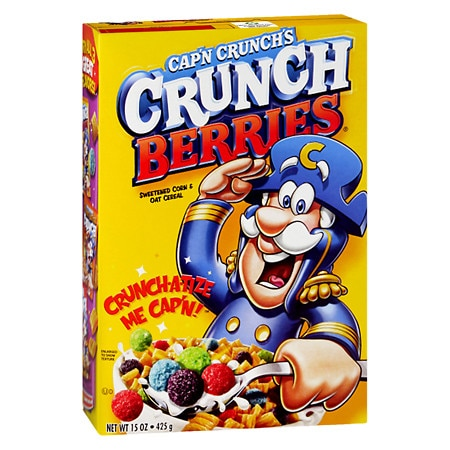 Cap'n Crunch Crunch Berries Cereal - 15 oz.