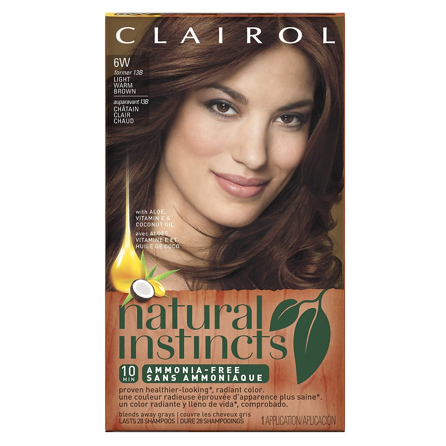 Clairol Natural Instincts Semi Permanent Hair Color6w13b Light