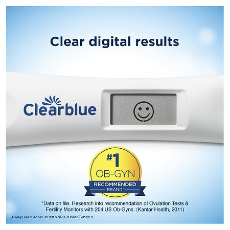 Clearblue Advanced Digital Ovulation Test Walgreens